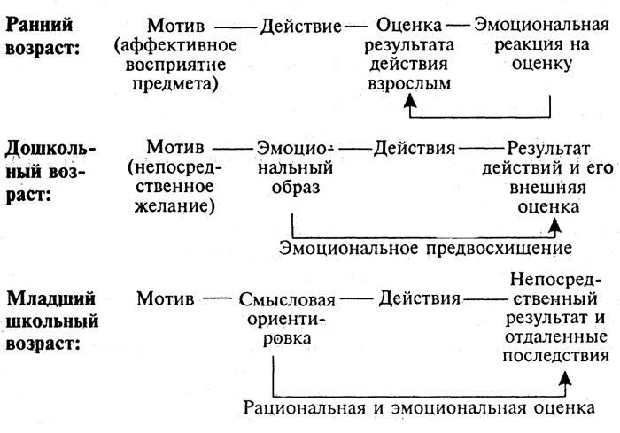Схема развития структуры